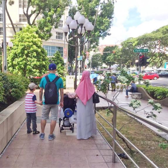 Itinerary 5 Hari 4 Malam Jalan - Jalan ke Singapura Bersama Bayi danKakek Nenek
