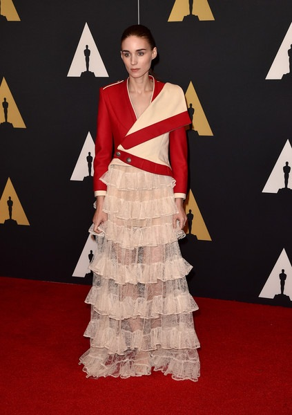 Rooney Mara attends the Academy of Motion Picture Arts and Sciences