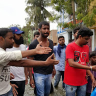 Hero Vishal Supplying Food Packets and Water