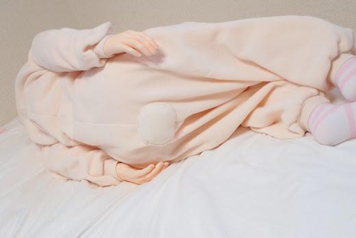 ララドールと着ぐるみパジャマ