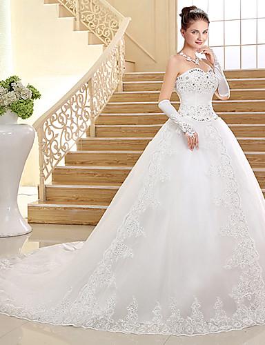 evasé increíble tul un y a bello precio blanco vestido encaje de