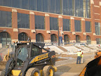Lucas Oil Stadium - City Wide Paving Finishes Excavation of Roadway
