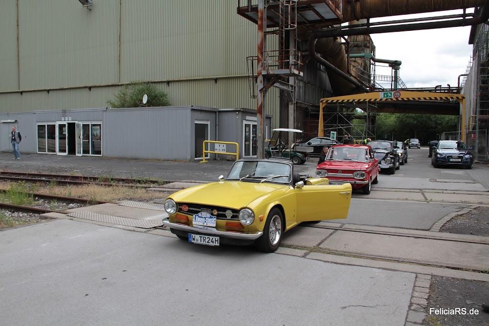 Henrichshütte Hattingen Startnummer 49 Triumph TR 6