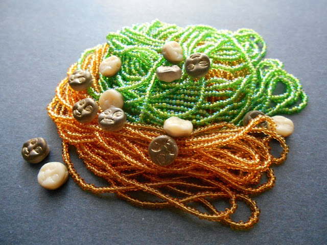 Earthy Moon Bead Color Idea