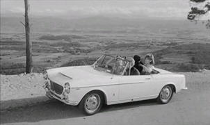 Fiat 1960 1500 cabriolet