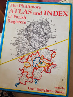 Full Circle Family History Blog: 5 on a Friday - Genealogy Books The Phillimore Atlas and Index of Parish Registers.