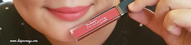 Review Purbasari Hi-Matte Lip Cream Latana