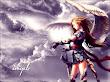Angel And Magic Wind