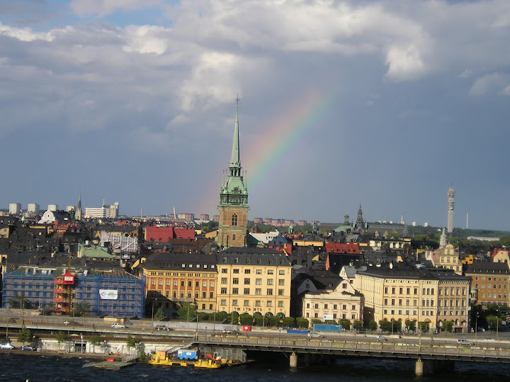 Finding the rainbow in Europe. From our interview with author Joelle Renstrom, about her new book, Closing the book: Travels in Life, Loss, and Literature