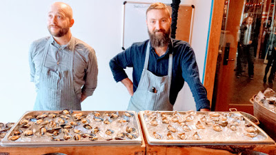 Clear Creek Distillery Turns 30! Some of the raw bar by Tournant / PDX Oyster Social