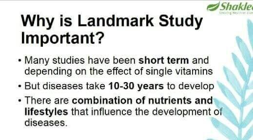 """""""Land Mark Study"""" jamin vitamin yang dimakan selamat. Betul kah?"""