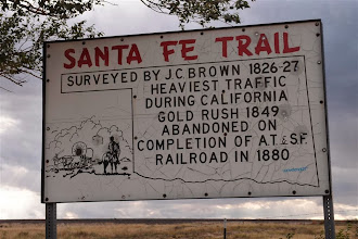 Photo: Right at the state line, the cutoff of the Santa Fe Trail comes through.