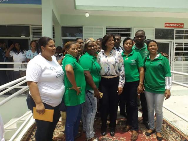 Vice presidenta  inaugura centro de salud en Villa Jaragua