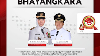 Peringati HUT ke-75 Bhayangkara, Presiden Anugerahkan Bintang Bhayangkara Nararya Bagi Tiga Personel, Ini Namanya
