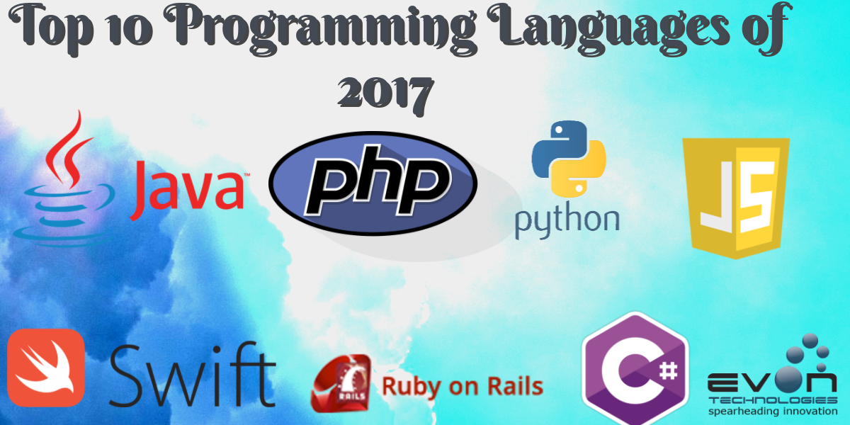 What are the Top 10 Programming Languages of 2017 So Far