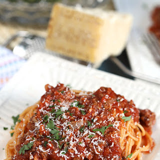 Easy Italian Meat Sauce.