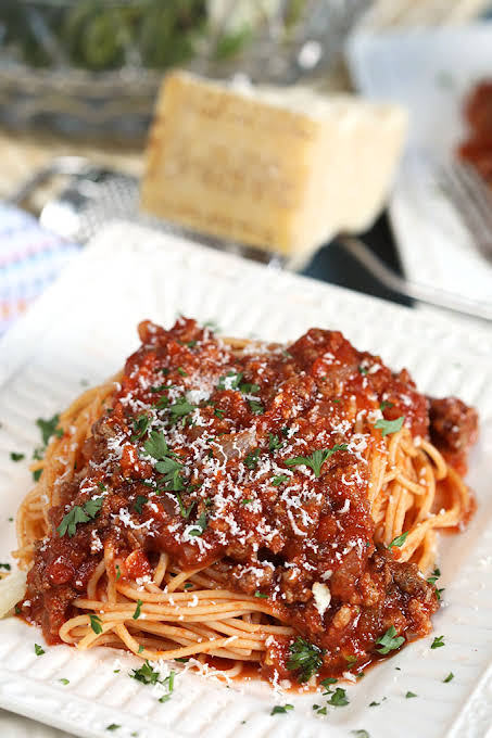 Easy Italian Meat Sauce