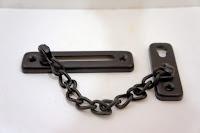 裝潢五金 品名:#9800-防盜鍊-4 顏色:黑色 材質:鐵電鍍 玖品五金