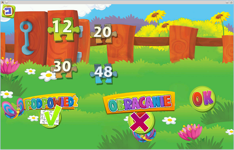 Скриншот Bajka i Puzzle Król Maratonów