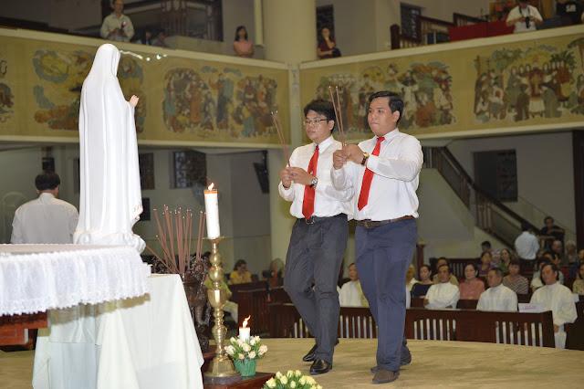 Lễ bổn mạng TTV Thánh Thể & Bế mạc tháng Hoa