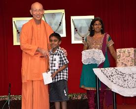 Photo: Award Receipient for the Bursary Awards - Sarveswaran
