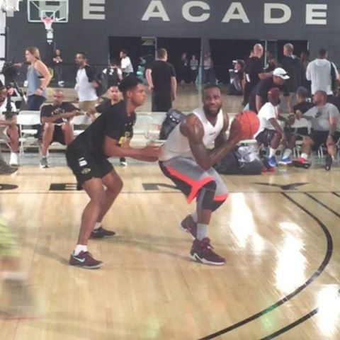 LBJ Wears Undisclosed Shoes at Nike Academy Is it LEBRON 13