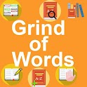 Grind of words icon