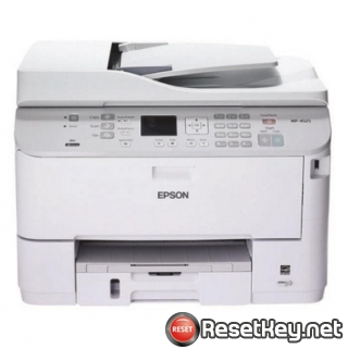Resetting Epson WorkForce WP-4511 printer Waste Ink Counter