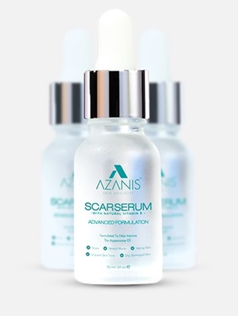azanis scar serum terbaru