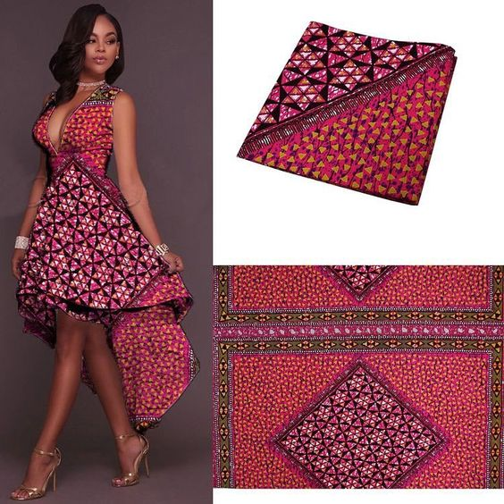Latest  African Short Maxi Dresses For Woman 2