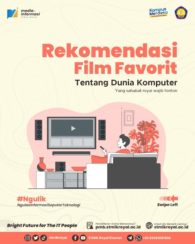 Rekomendasi Film Favorit tentang Dunia Komputer