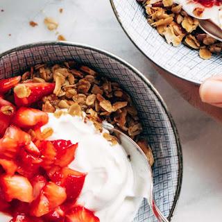Strawberry Shortcake Yogurt Bowls.