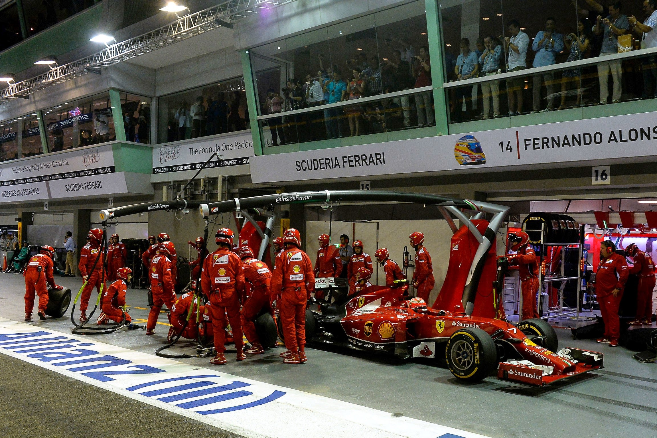 HD wallpaper pictures 2014 Singapore F1 GP | F1-Fansite.com
