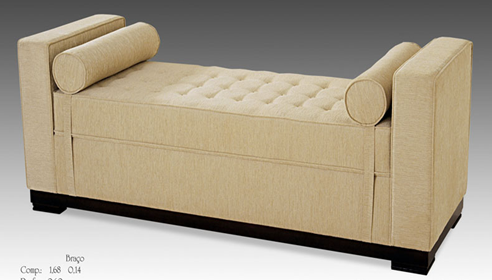 Backless Sofa Or Couch Decorations Modern Backless