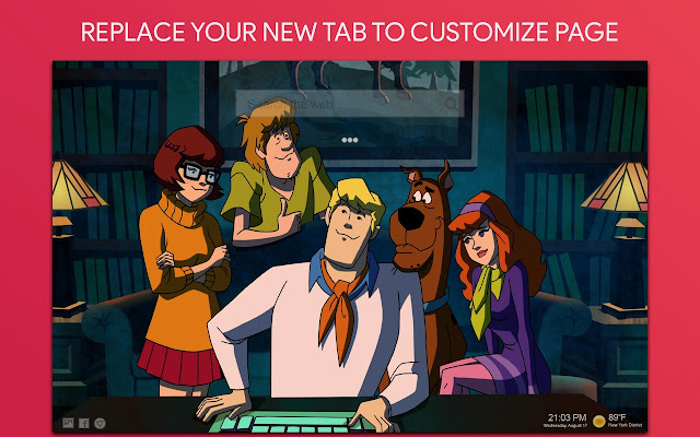 Scooby Doo Wallpaper HD Custom New Tab