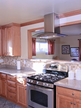 Cool Kitchen Remodel in San Diego photos by Merit Construction