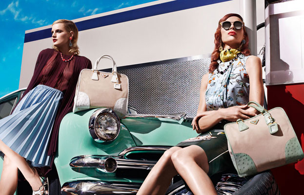 new Prada sunglasses for women spring 2012 campaign