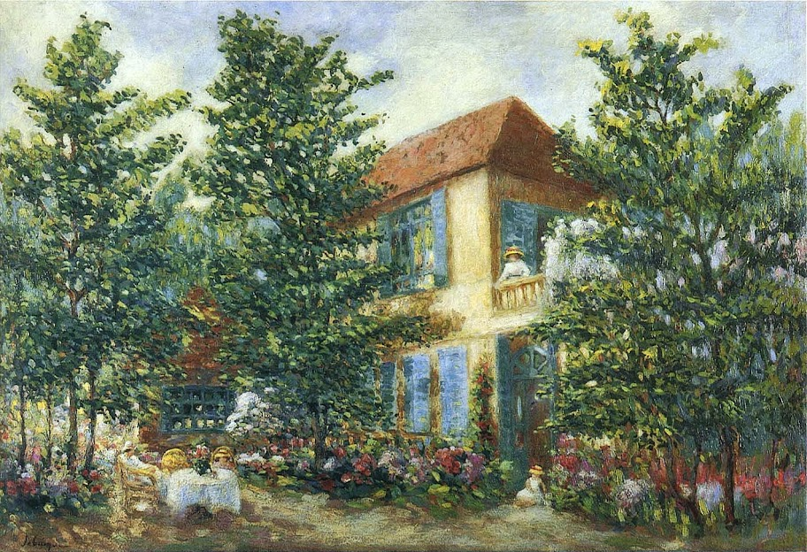 Henri Lebasque - After Midday in the Garden