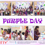 Purple Day Celebration by Jr. Kg Section (2018-19), Witty World, Goregaon East