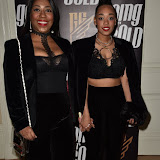 OIC - ENTSIMAGES.COM - Sue Evans - Mum and Imani Evans - Daughter at the  Going for Gold magazine launch party in London 19th January 2015 Photo Mobis Photos/OIC 0203 174 1069