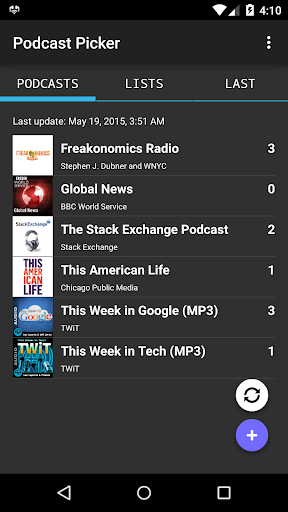 Podcast Picker