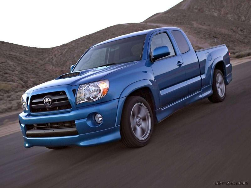 2007 toyota tacoma access cab specifications pictures prices. Black Bedroom Furniture Sets. Home Design Ideas