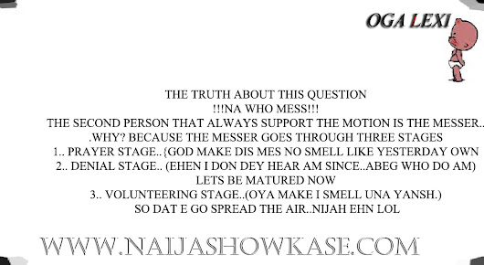 popular Nigerian question - Naija Show Kase