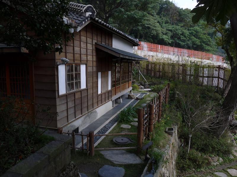 TAIWAN.Taipei .Maison japonaise vers Beitou et Musée National de Taipei à côté du Peace park - P1060305.JPG
