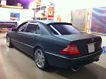 2004 Mercedes Benz S500 - full matte black - 3M 1080 series