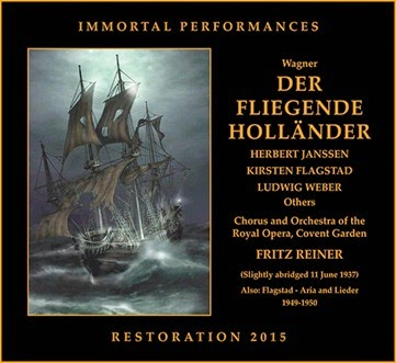 CD REVIEW: Richard Wagner - DER FLIEGENDE HOLLÄNDER (Immortal Performances IPCD 1051-2)