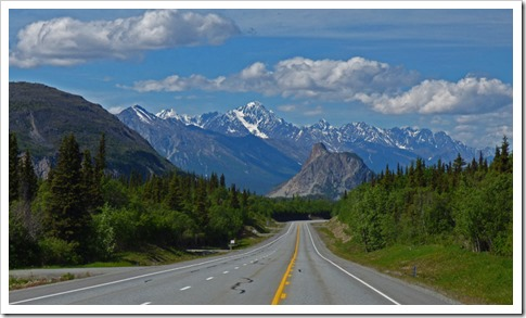 Between Glennallen and Anchorage, Glenn Highway