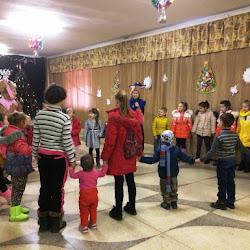 детская развлекательная программа «Новогодние чудеса»  «В гостях Розовый слон» Новосельский СДК