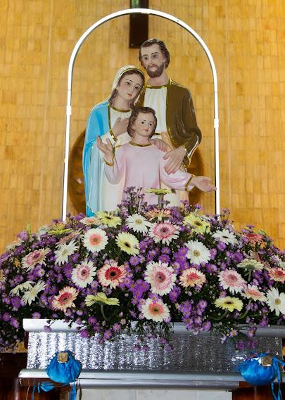 Giáo xứ Phú Bình: Nguyện cầu Thánh Gia
