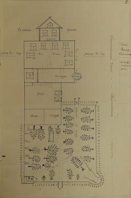 План дома и усадьбы Матвея Жорина, 1897 г.